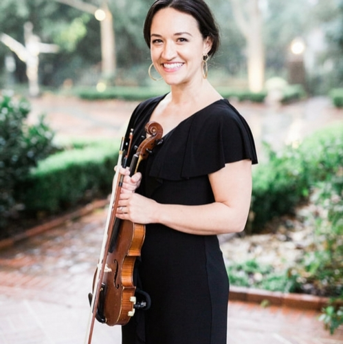 violinist with Deans duets nc wedding musicians